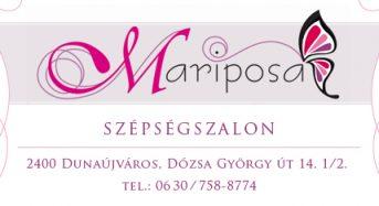 Mariposa Szépségszalon – Dunaújváros