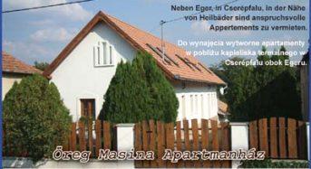 Öreg Masina Apartmanház – Cserépfalu
