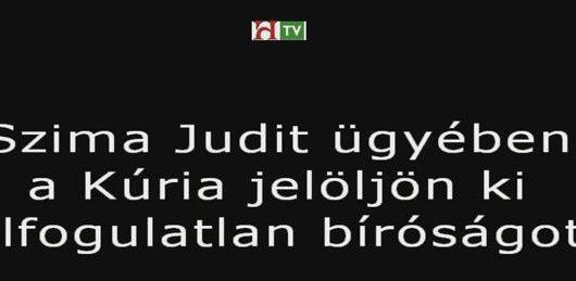 Elfogulatlan bíróságot Szima Judit főtitkárnak!