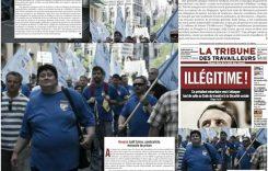 Szima Judit, a TMRSZ örökös főtitkárának ügye a francia sajtóban