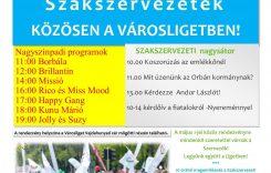 Május 1. – szakszervezetek közösen a Városligetben